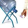 Floor stand Metal Wire 5 gallon water dispenser bottle display rack