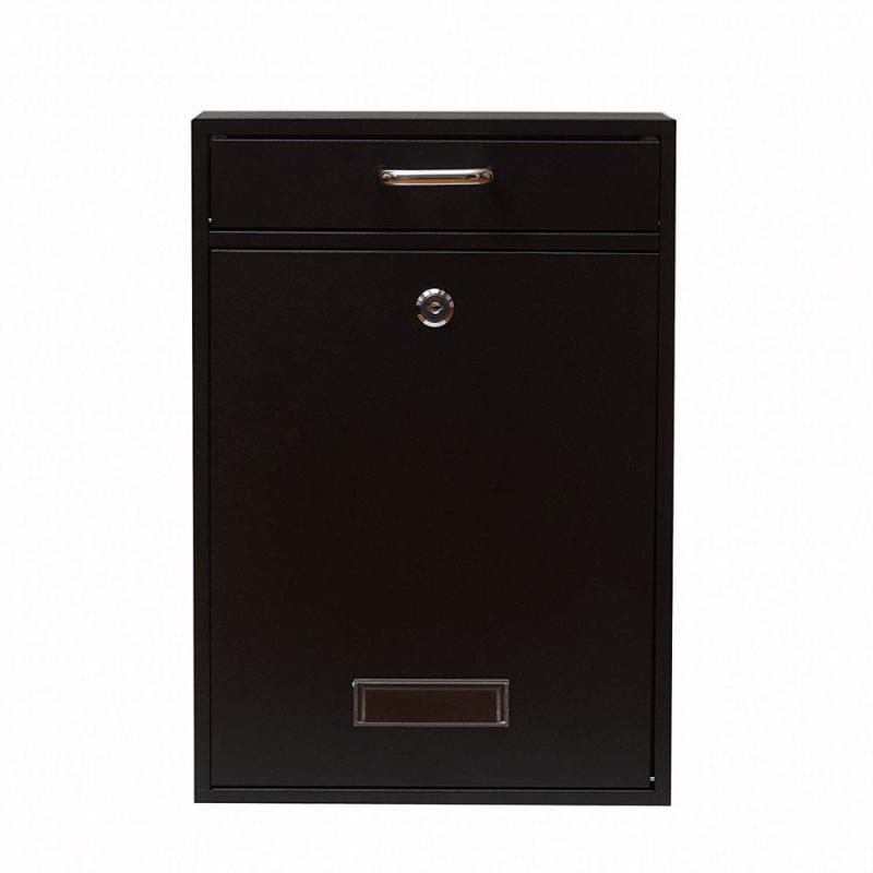 Manufacture Direct Sale Decorative Kindle Low Cost Commercial Cast Iron Acrylic Office Lockable Mailbox