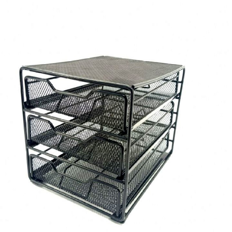 Manufacturer Supply home Kitchen 36 pods storage Metal Wire Coffee Capsule drawer