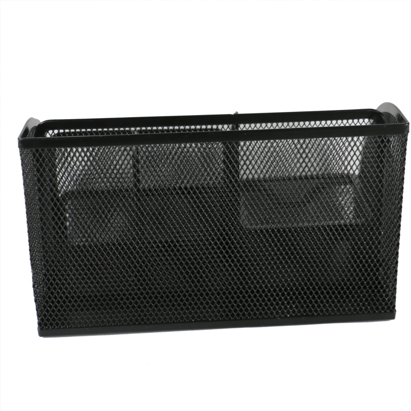 Office School Home household desktop table Caddy Metal Mesh Office Desk Organizer for storage clip memo