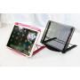 Portable Folding Mesh Table Stand Adjustable  metal Bracket  Laptop holder metal mesh monitor stand holder
