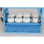 Kitchen Design Household Dish Rack 2 tiers Plastic kitchen tray rack with DrainBoard