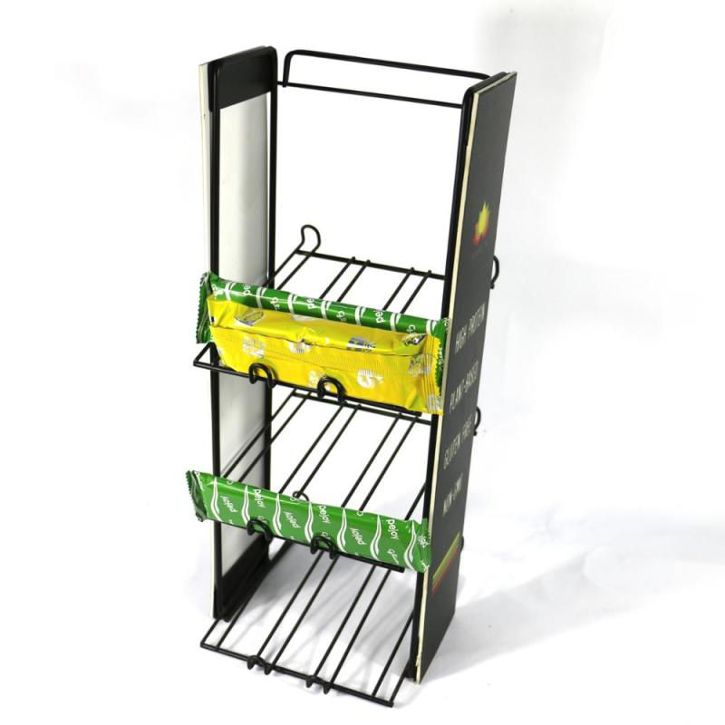 Counter metal wire candy food Biscuits supermarket rack