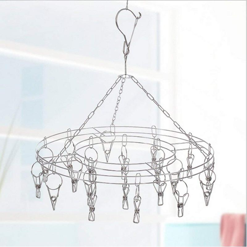 Doll Clothes Hangers 18 Inch Dolls Top Women Bra Space Stainless Steel Organizer Cloth Hanger