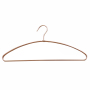 Coat Hanger with Chrome  , Rose Gold Semicircle with Hook Men Tie Business Suit Cloth Hanger