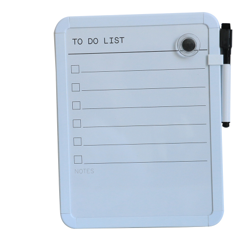 mobile interactive magnetic small  dry erase daily planner task white board with magnet pen eraser