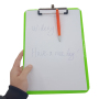 Amazon Hot Sale Mini Folder A4 Notebook Holder Office Letter Size Plastic Storage Clipboard Stand Writing Board