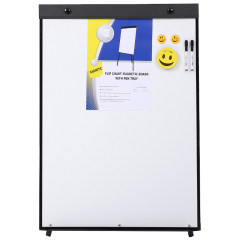 Wideny office school stationery aluminum frame ABS corner metal magnet movable meeting whiteboard with stand