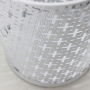 wholesale school home office supply cast iron recycle bin  trash basket mesh Round Wastebasket trash can