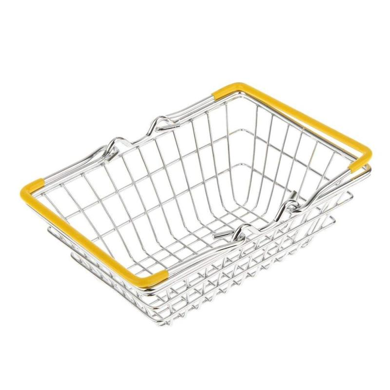 2019 new Modern Home Hotel Metal  Mesh single layer Fruit Basket for Kitchen Bowl Storing Vegetable