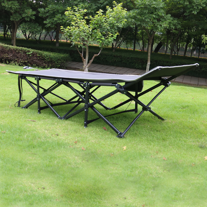2020 Wideny Beach Metal Outdoor Or Camping Portable Double Folding Bed