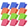 Wideny Refrigerator Whiteboard Wall Magnetic Memo Note cilp Square Magnet Metal Clip