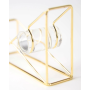 Desk Accessories Creative Stationery Tape Holder Cutter Gold Wire Metal Desktop Tape Dispenser