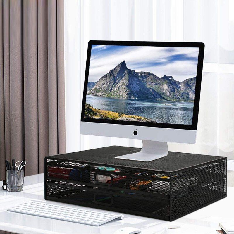 Aluminum Foldable Holder Laptop Desk Stand, Computer Table Adjustable Height Aluminium Desktop Adjustable Laptop Stand