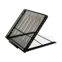 Adjustable Height Easy Carry Laptop Stand, 12 Level Foldable Metal Mesh Laptop Stand Suitable for 15-17 inch Laptop