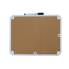 Dry Erase Frameless Writing and Drawing Lapboard Whiteboard Double Sided Mini Kids Education White Board