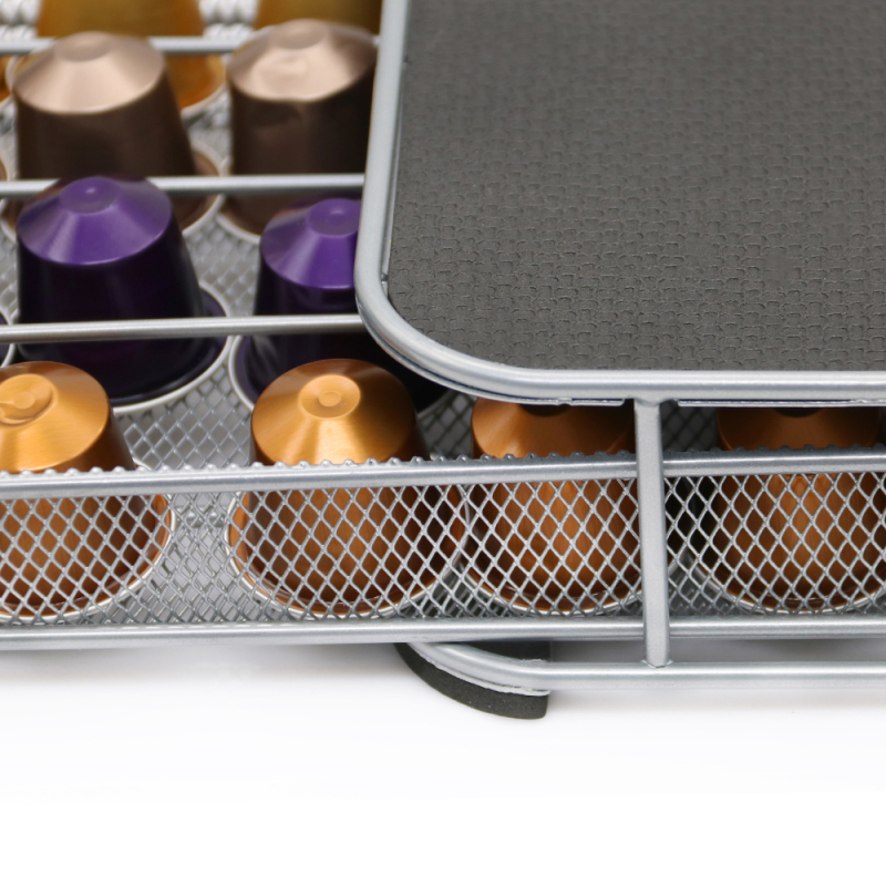 filling empty storage coffee organizer capsule drawer