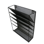 factory hot sell stock custom metal mesh accordion expandable wall mounted hanging wall file organizer