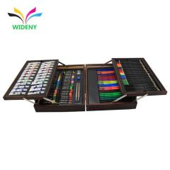 wholesale competitive price professional deluxe creative drawing rainbow kids wood art set