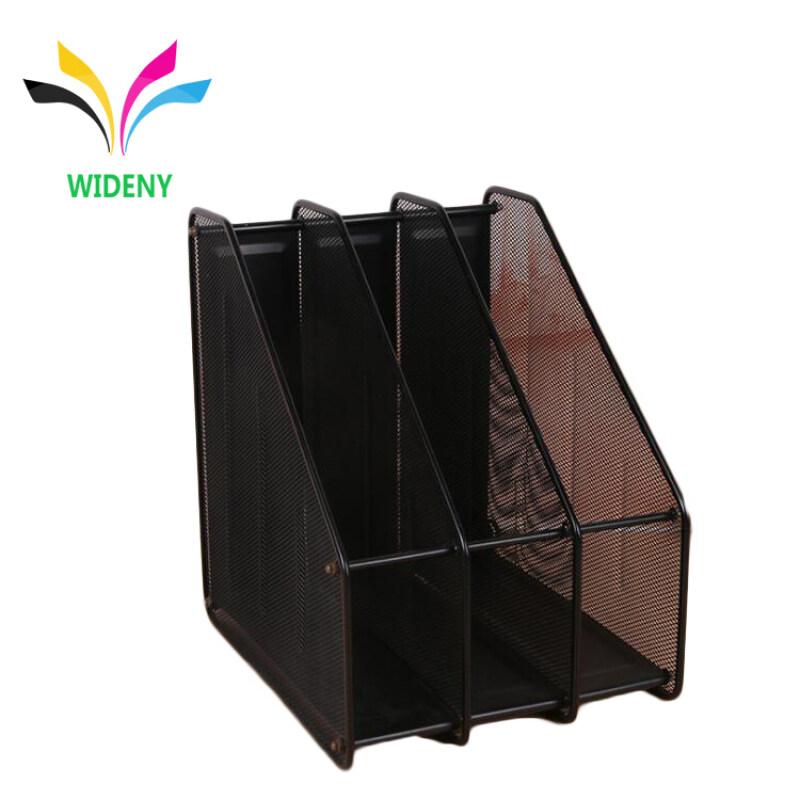 Wholesale Metal Mesh Office Supplies Desk File Organizer Magazine Holder