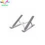 Portable laptop stand, Aluminum Foldable Holder 10 Height Adjustable Aluminium Alloy Laptop Stand Adjustable