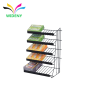 Store gorcery wire Metal chocolate candy bread supermarket rack
