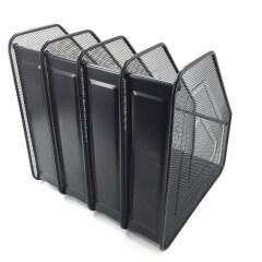Desk Organizer vertical Brochure sorter A4 Paper stand file holder