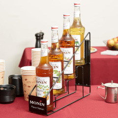 Metal monin syrup counter display rack