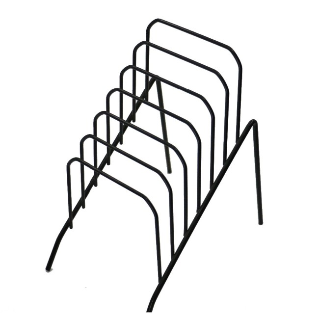 small step black wall file organiser for office expanding holder rack
