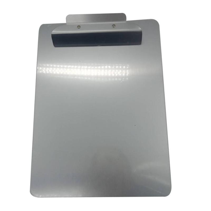 Manufacture Direct Sale Aluminum Dual Storage Case Foldable Medical Nursing Custom Logo Clipboard with clip board Clips