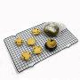 Metal Pan 1 layer  12*17  Half Sheet Bakeable Cooling Rack metal pan bakery cooling rack