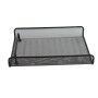 custom home office supplies household black metal wire mesh pen pencil holder document tray desk organizer