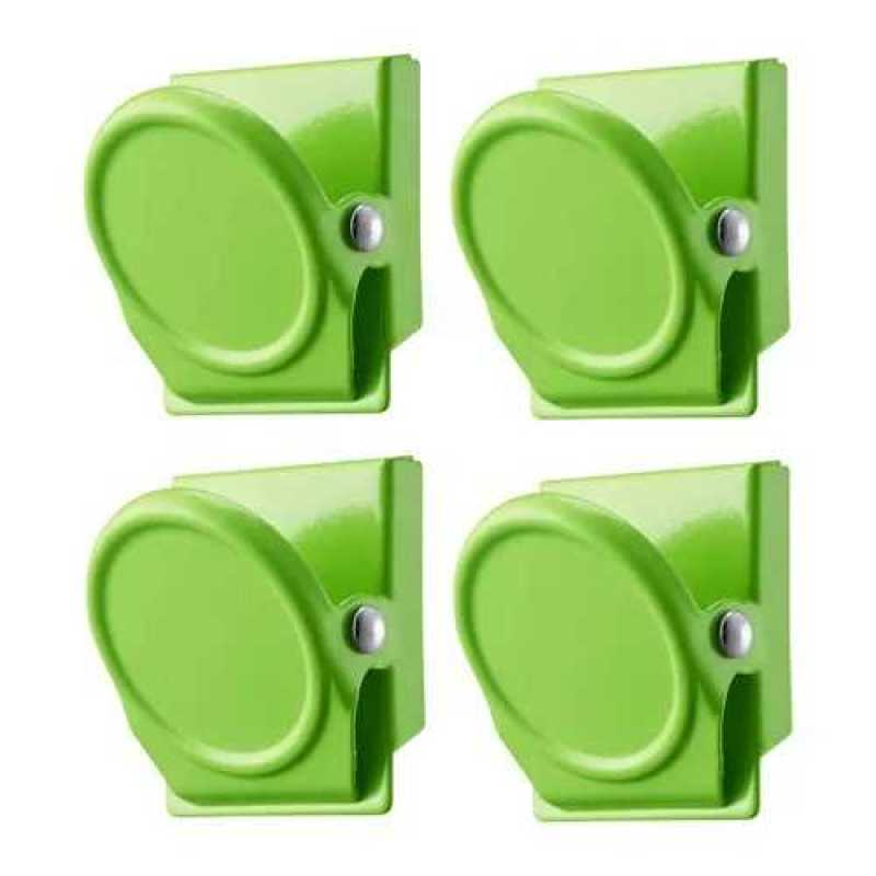 home office small gift square colorful refrigerator magnetic clips