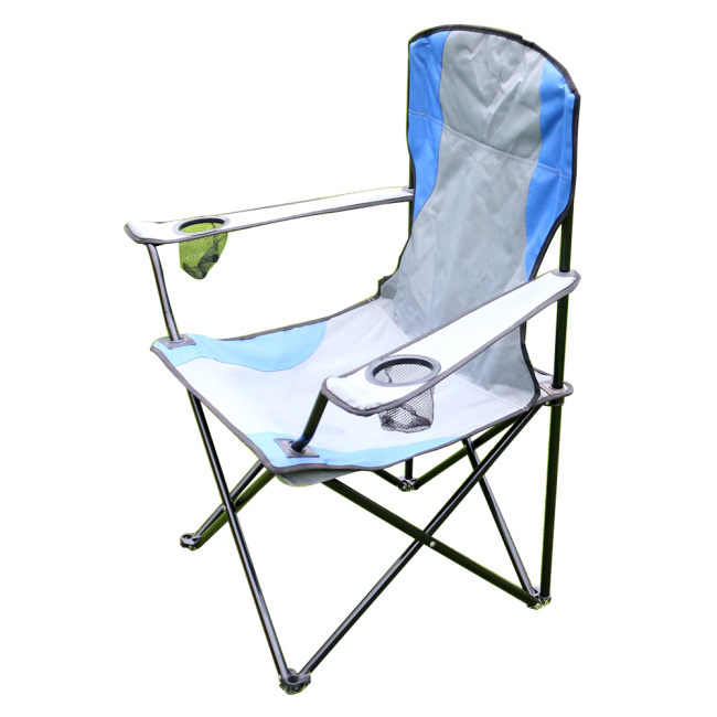 Beach Big Boy Metal Outdoor Or Camping Portable Fold Chair