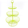 3 tier cupcake stand cake Decorative metal steel candy tray fruit display rack