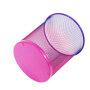 Diameter 268*220*280 Black recycle bin  trash basket mesh Round Wastebasket