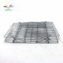 Amazon Popular Home Kitchen Folding 3 Tier Stainless Steel Cooling Rack For Bakery Bread Cake