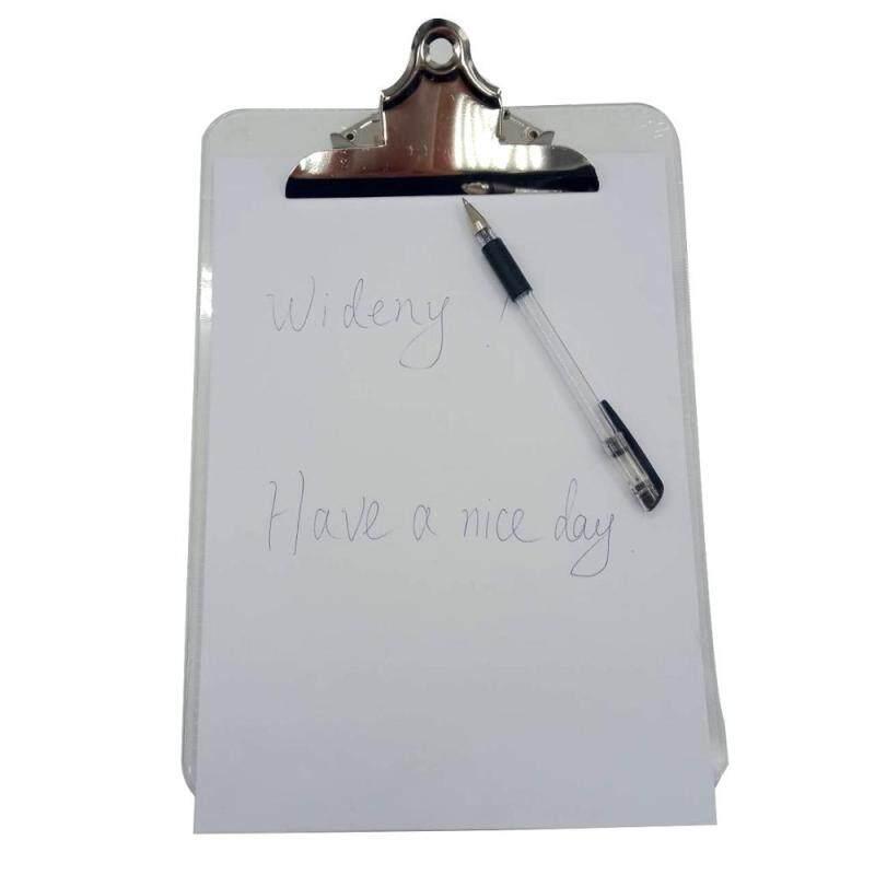 Heavy Duty Clipboard  Office Low Profile Clip Standard A4 metal Letter Size Hardboard Clipboard