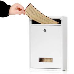 High Quality steel cabinet Wall Mounted Newspaper Holder Lockable Waterproof Apartment Post Box Mailbox