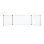 China Office and School Supplies Aluminium Frame Free Stand Magnetic Interactive Dry Erase Foldable White Board