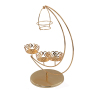 China WIDENY Iron Metal Hanging Gold Holding Cake Stand for Wedding
