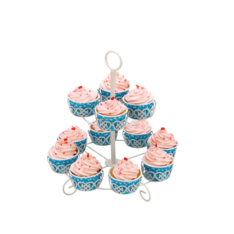 birthday wedding 2 tier iron cake stand metal party cupcake stand set for banquet dessert afternoon tea