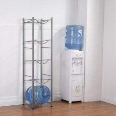 2020 Hot product 5-Tier Silver Jug Holder Water Bottle Storage Rack  for water dispenser