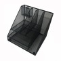 2019 home office Wall vertical mount metal desk table document magazine rack hanging file organizer