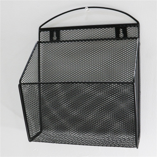 Wideny supplier office mesh iron Desk  wall mounted hanging magazine holder metal storage holder organizer