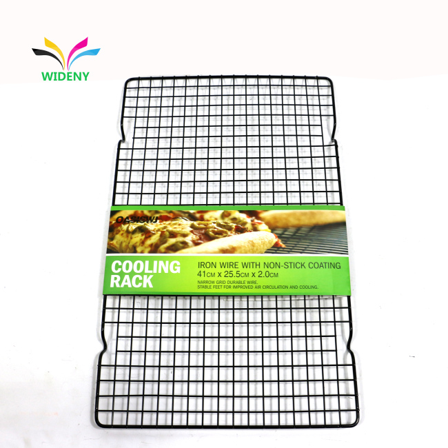Metal Pan 1 layer  12*17  Half Sheet Bakeable Cooling Rack metal pan bakery cooling rack