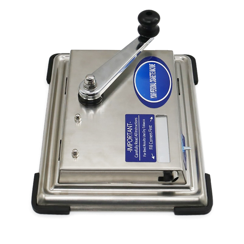 Wholesale Supply Home Stainless Steel Metal Commercial Manual Cigarette Rolling Machine