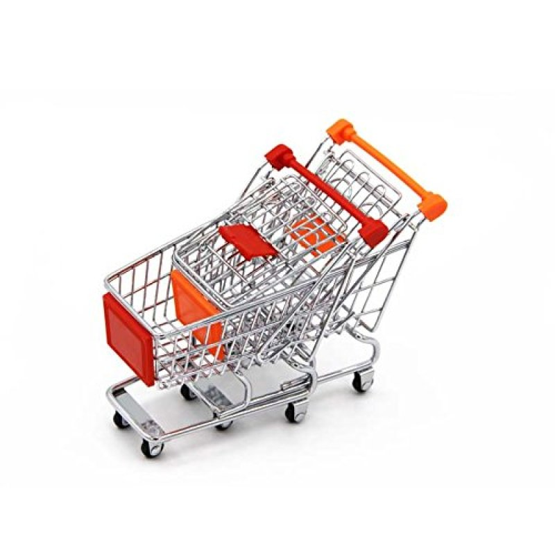 Supply Personal Mall Precious Toys Kids & Toddler Groceries Supermarket Trolley Seat Metal Toy Shopping Cart