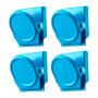 OEM Custom mini silver Fridge Magnets round solid metal refrigerator magnet for calendar souvenir