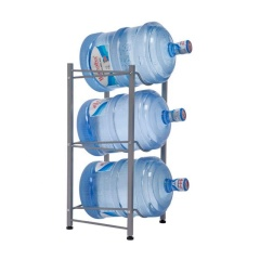 Hot sale 5 gallon Detachable Heavy Duty water bottle storage display rack with 5-Tier